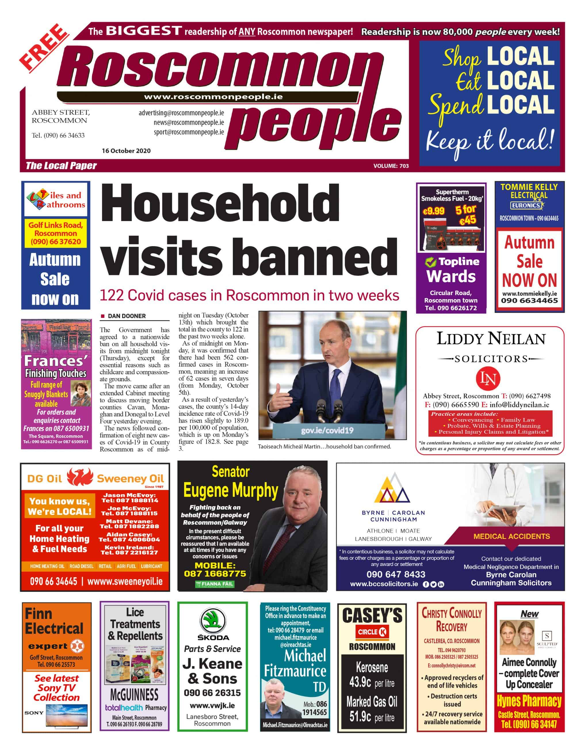 Roscommon People Digital Edition 16th October